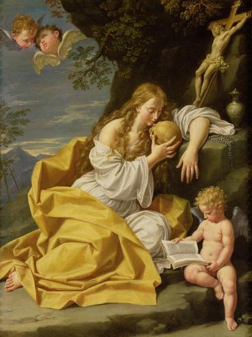 The Penitent Magdalene Lámina giclée