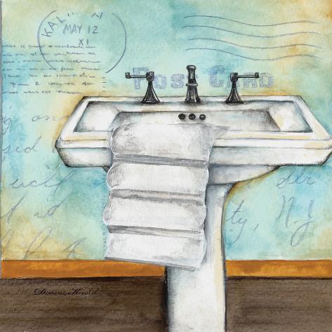 Cleanse Bath Art Print