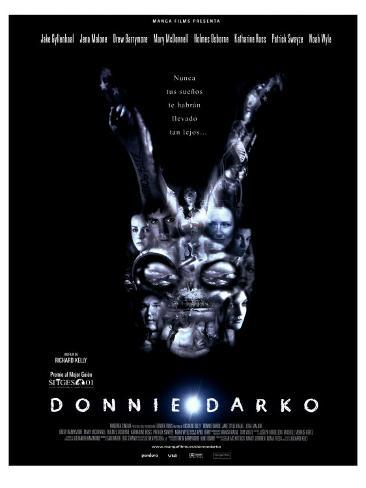 Donnie Darko, Spanish Movie Poster, 2001 Stretched Canvas Print