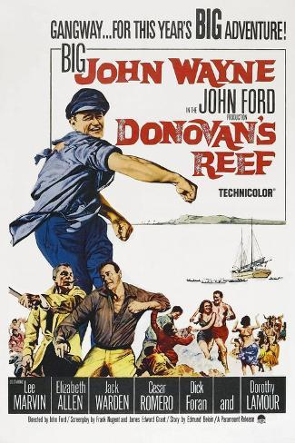 Donovan's Reef [1963], Directed by John Ford. Giclee Print