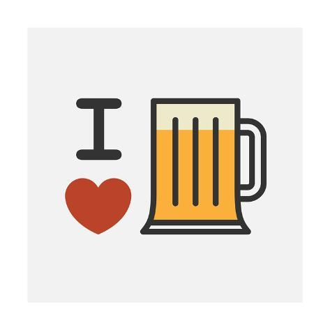 Love Beer Taidevedos
