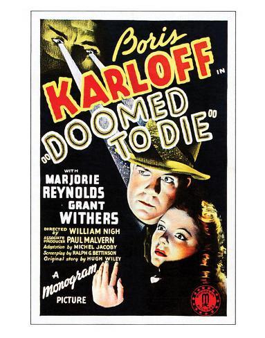 Doomed To Die - 1940 Giclee Print