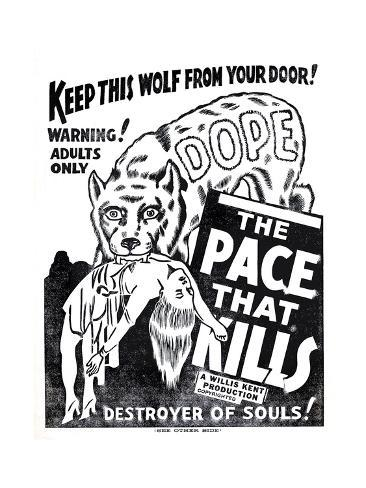 Dope: the Pace That Kills Art Print