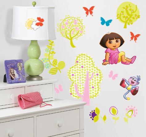 Dora the Explorer Peel & Stick Wall Decals Wall Decal