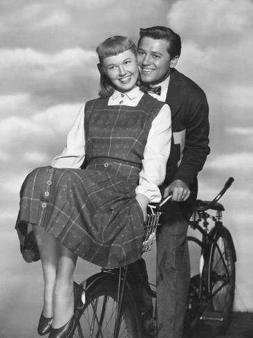 Doris Day, Gordon Macrae, On Moonlight Bay, 1951 Stampa fotografica