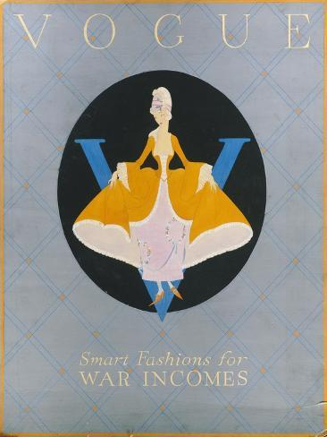 Vogue - April 1918 Stampa giclée premium