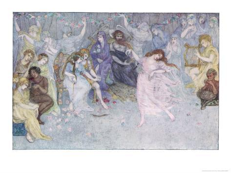 The Wedding of Cupid and Psyche Giclee Print