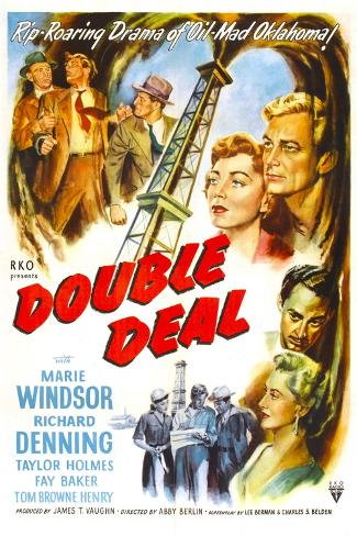 Double Deal Art Print