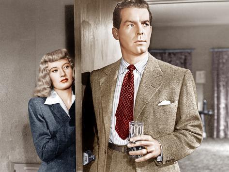 Double Indemnity, Barbara Stanwyck, Fred MacMurray, 1944 Photo