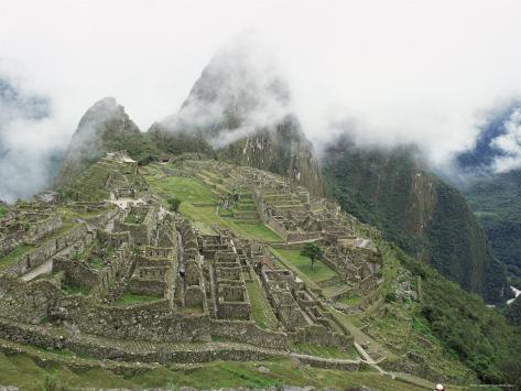 Machu Picchu, Lost City of the Incas, Peru Photographic Print
