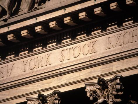 Ny Stock Exchange Building, NYC Photographic Print
