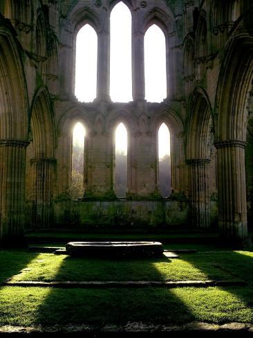 Ruins of Rievaulx Abbey Photographic Print