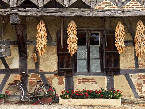 Ferme de La Foret, St. Trivier de Courtes, Burgundy, France Photographic Print
