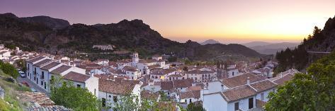 Grazalema, Grazalema, Cadiz Province, Andalusia, Spain Photographic Print