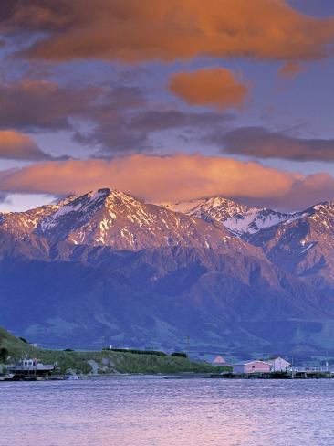 Kaikoura Range, South Island, New Zealand Photographic Print