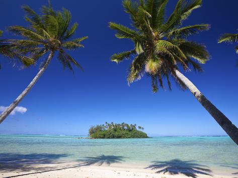 Muri Beach, Rarotonga, Cook Islands, South Pacific Photographic Print