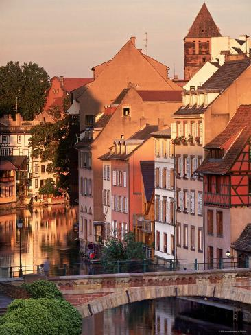 Ponts-Couverts, Strasbourg, Alsace, France Photographic Print