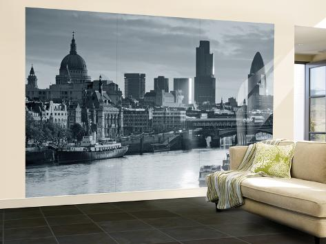 St. Paul's and City of London, London, England Wall Mural – Large