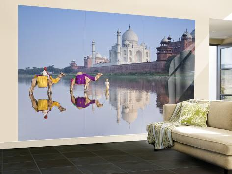 Taj Mahal, Agra, Uttar Pradesh, India Wall Mural – Large
