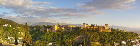 The Alhambra Palace, Granada, Granada Province, Andalucia, Spain Photographic Print
