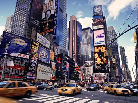 Times Square, New York City, USA Photographic Print