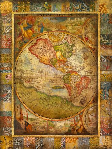 Orbis Terra Art Print