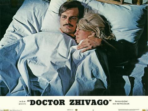 Doutor Jivago, 1965, em inglês Impressão artística