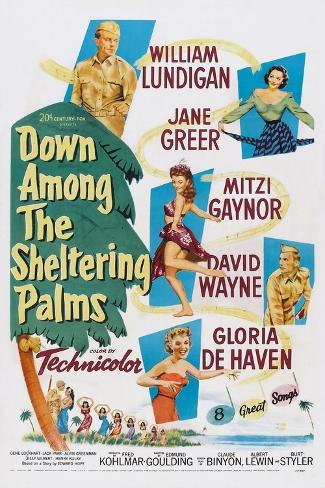Down Among the Sheltering Palm, 1953 Art Print