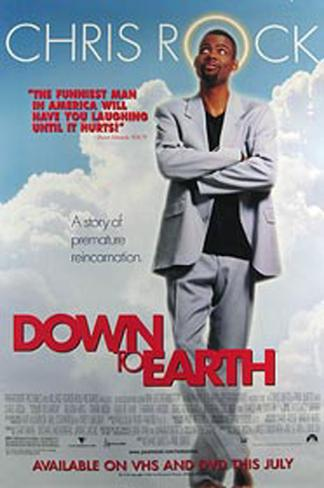 Down To Earth Original Poster