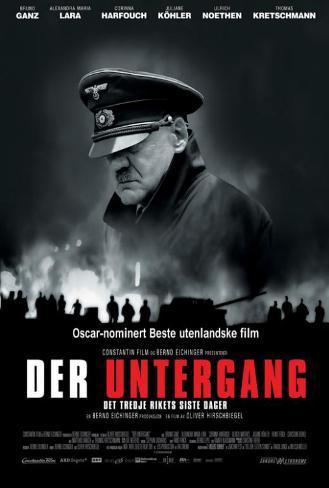 Downfall - Danish Style Poster
