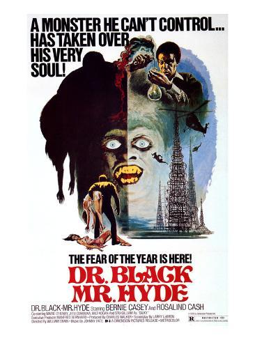 Dr. Black, Mr. Hyde, Bernie Casey, 1976 Foto