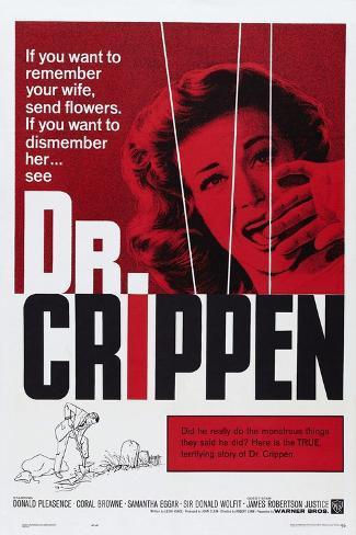 Dr. Crippen Konstprint