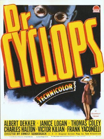 Dr. Cyclops, Albert Dekker, Janice Logan, 1940 Art Print