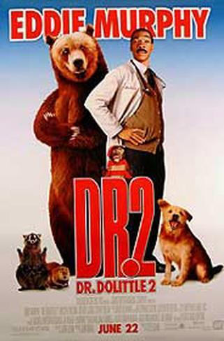 Dr. Dolittle 2 Double-sided poster