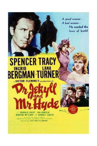 Dr. Jekyll and Mr. Hyde - Movie Poster Reproduction Stampa artistica