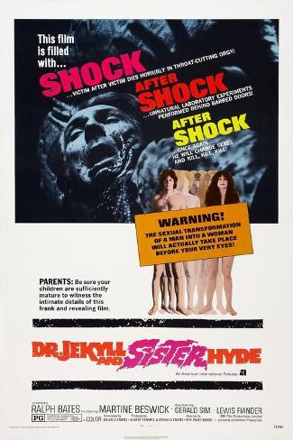 Dr. Jekyll and Sister Hyde, 1971 Art Print