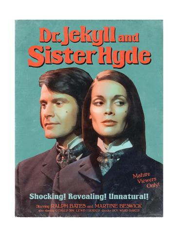 Dr. Jekyll and Sister Hyde 1971 Art Print