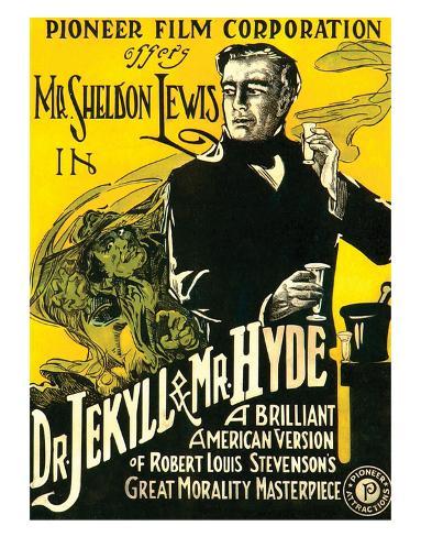 Dr.Jekyll & Mr. Hyde - 1920 Giclee Print