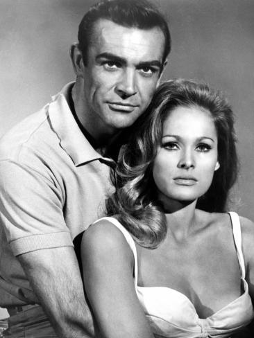 Dr. No, Sean Connery, Ursula Andress, 1962 Photo