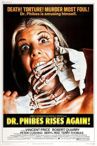 Dr. Phibes Rises Again! Art Print