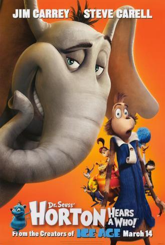 Dr. Seuss' Horton Hears a Who! Poster