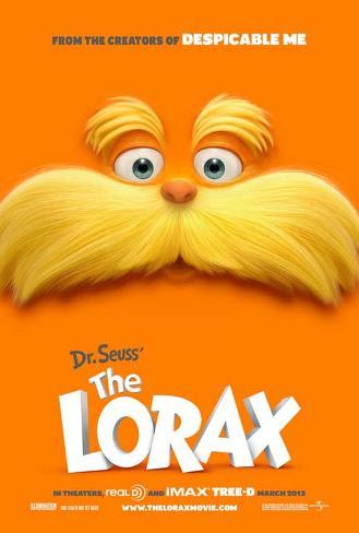 Dr. Seuss' The Lorax マスタープリント