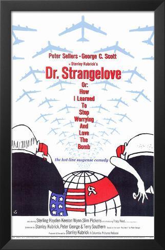 Dr^ Strangelove Framed Art Print
