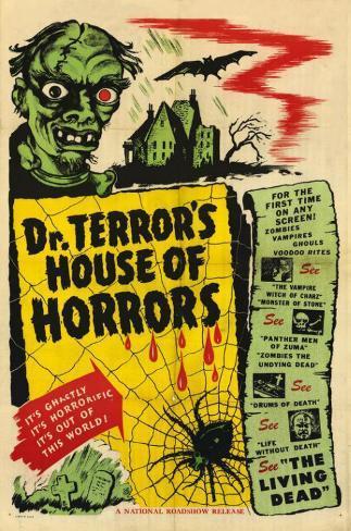 Dr. Terror's House of Horrors Masterprint