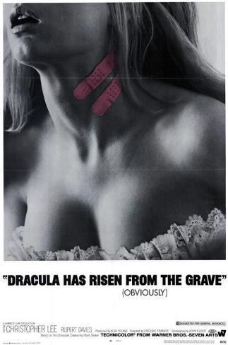Dracula Has Risen From the Grave Impressão original
