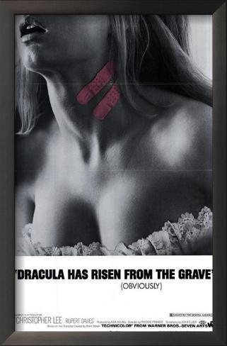 Dracula Has Risen From the Grave Framed Art Print