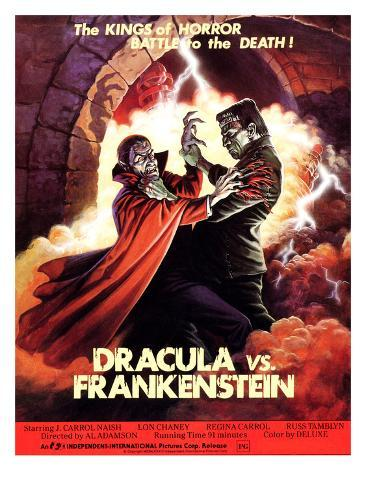 Dracula vs. Frankenstein, Zandor Vorkov, John Bloom, 1971 Photo