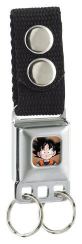 Dragon Ball Z - Chibi Goku Face Seatbelt Buckle Keychain Keychain
