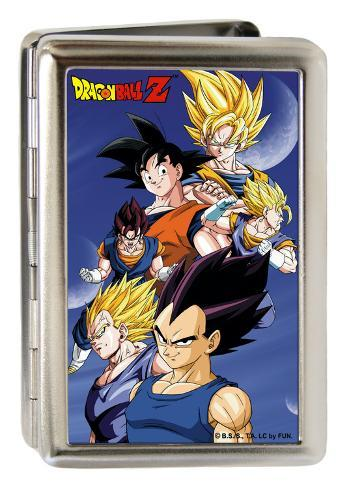 Dragon ball z gokuvegeta poses blue business card holder produtos dragon ball z gokuvegeta poses blue business card holder produtos divertidos reheart Image collections