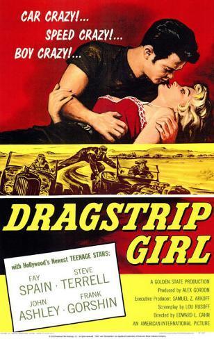 Dragstrip Girl Impressão original